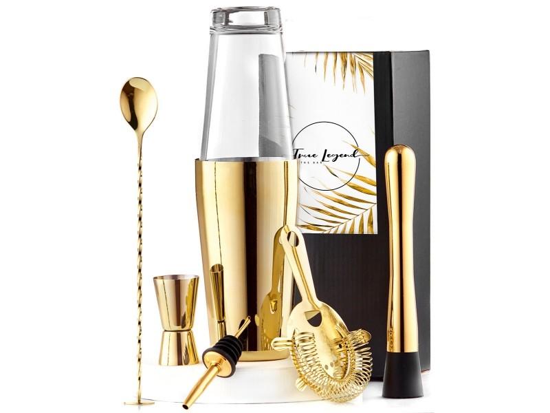 Gold Cocktails Set True Legend