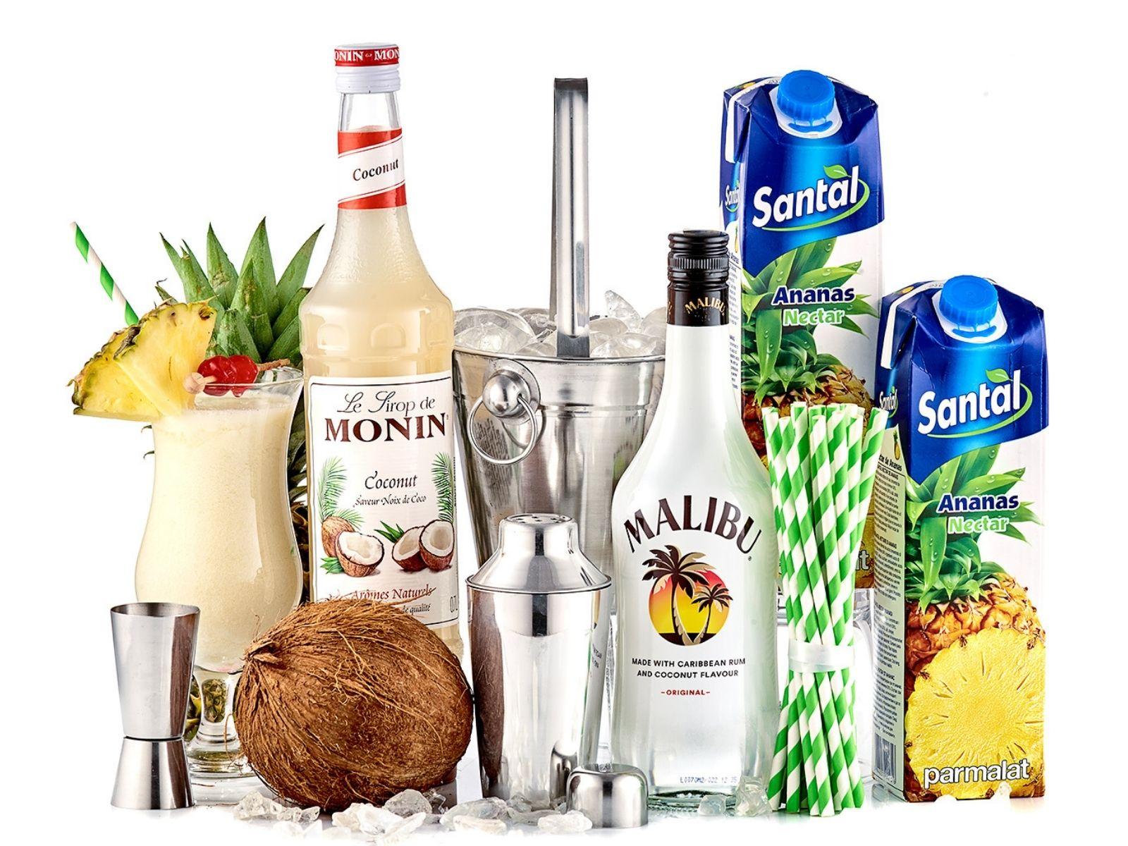 Pina Colada Cocktail Party