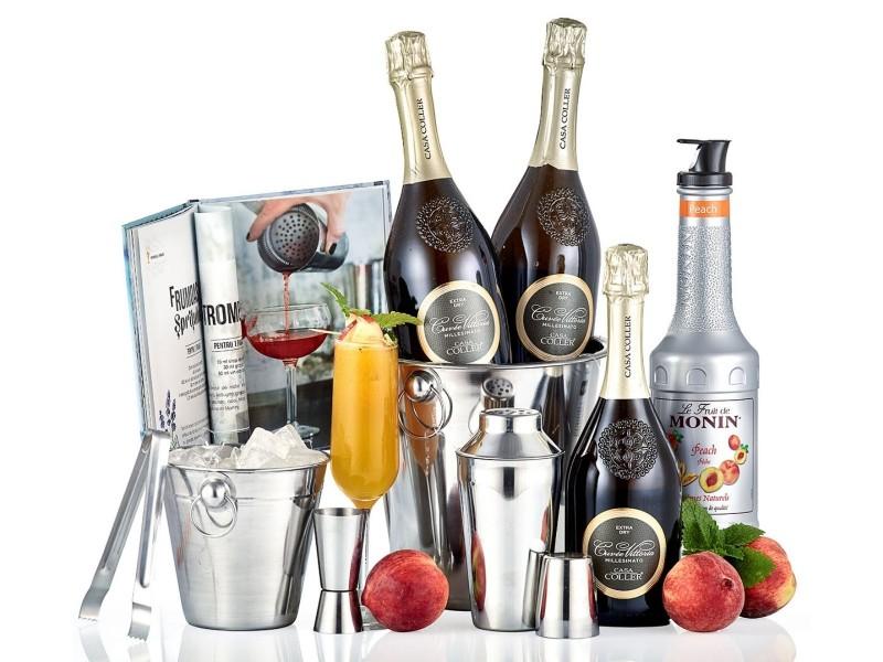Peach Bellini Cocktails Party