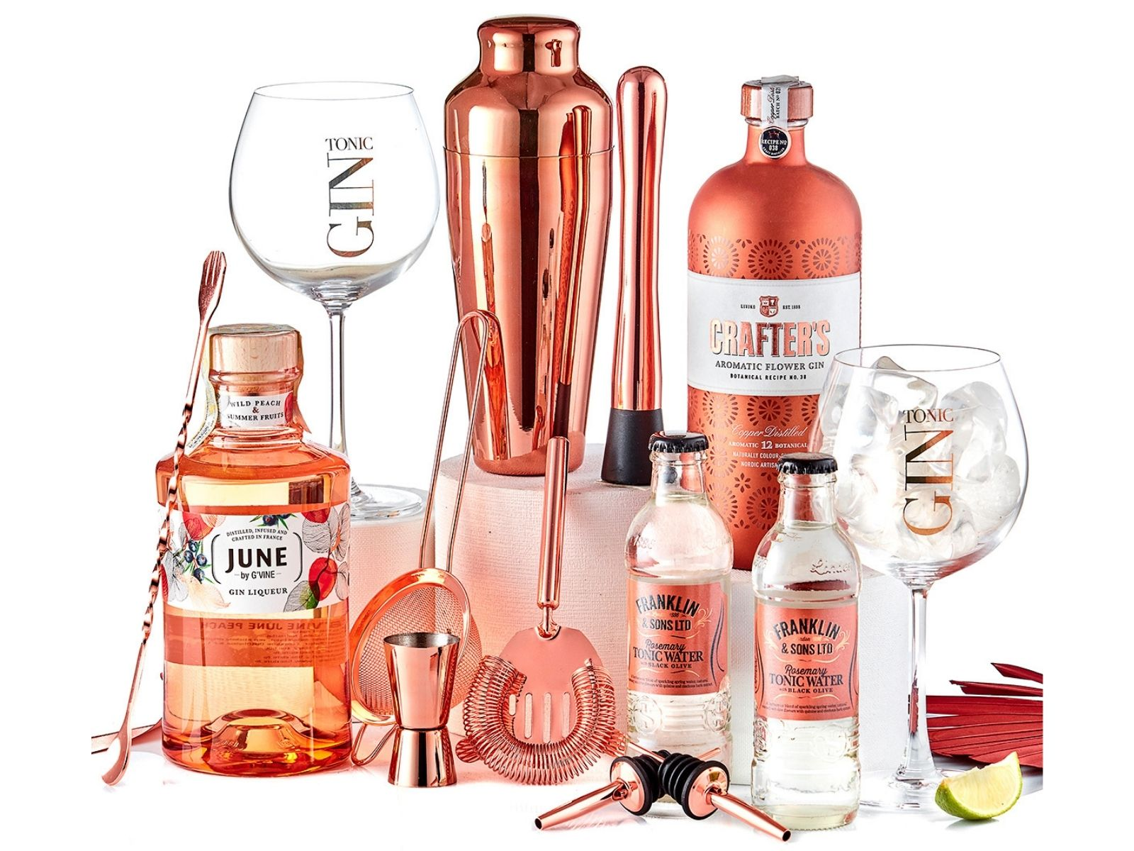 Copper Crafted Gin Cocktail Party